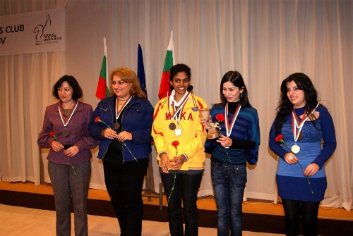 Mika Yerevan earned third place in women section